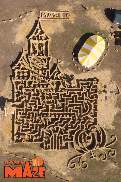 Bozeman Hay Maze