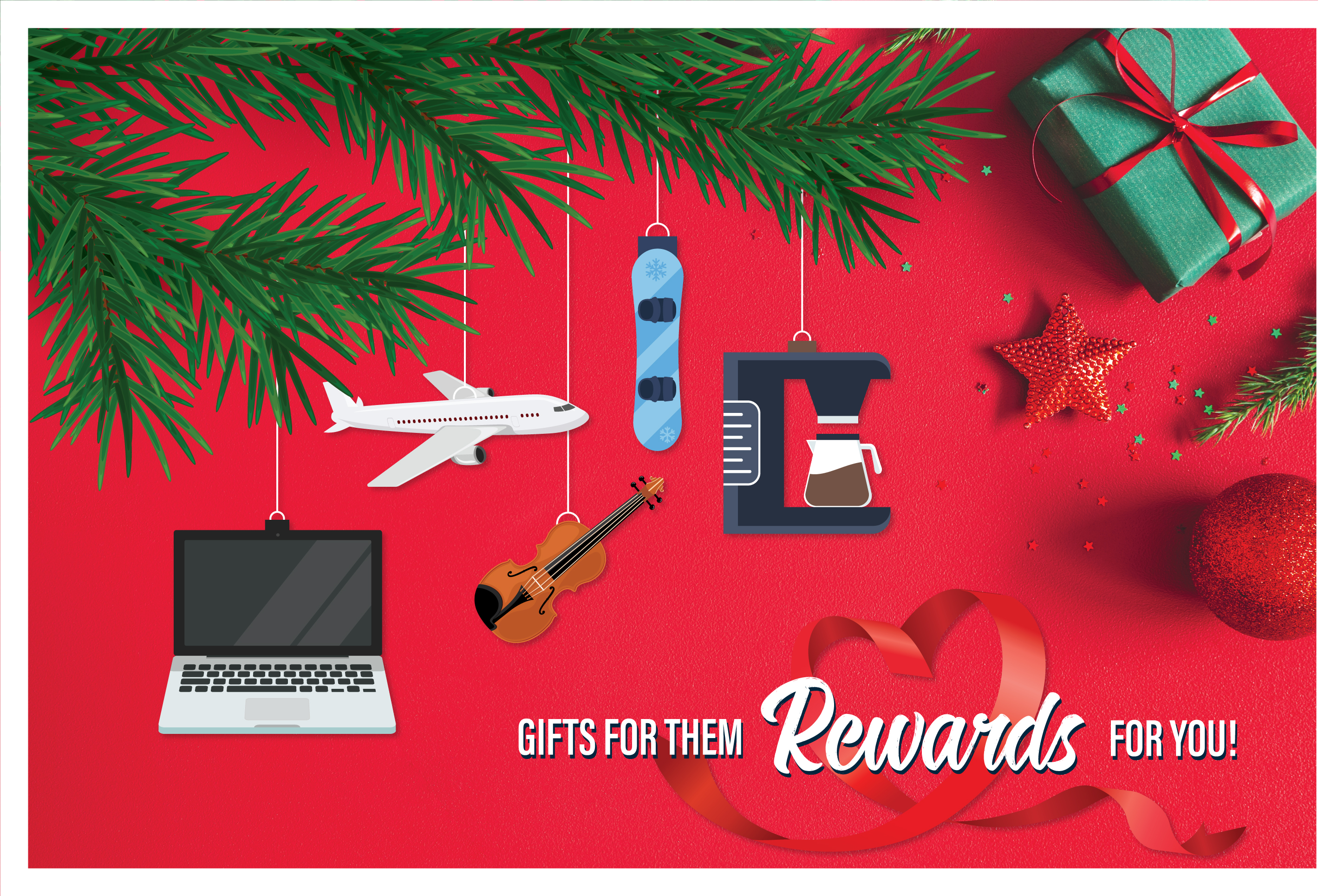Treat Yourself with the Holiday Visa Rewards Card