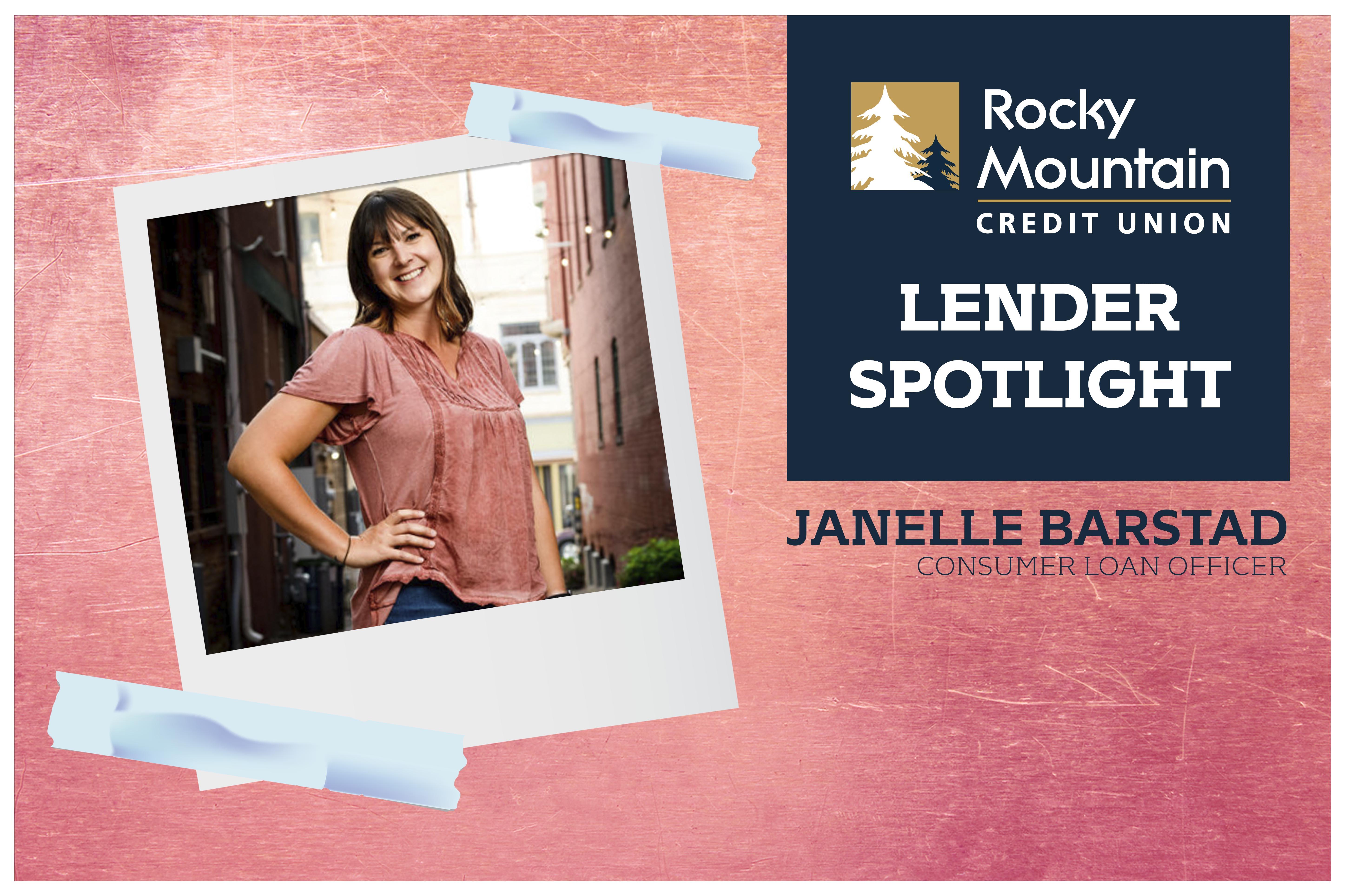 Lender Spotlight: Janelle Barstad