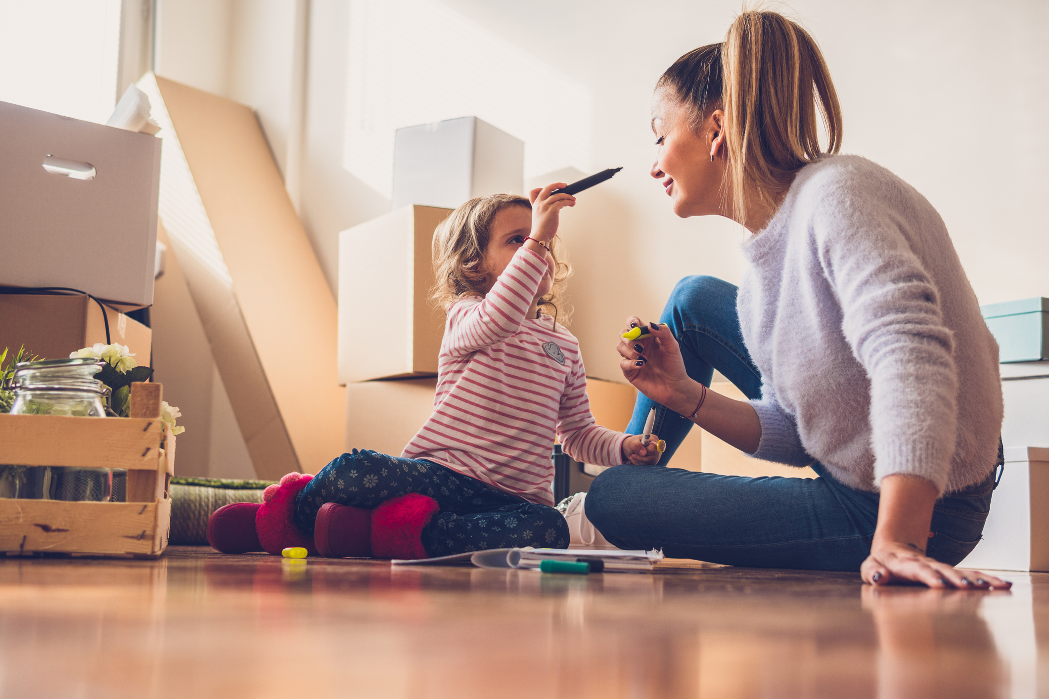 How to Help Your Kids Transition in a Move